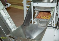 A component of the equipment that sorts the groundnuts.