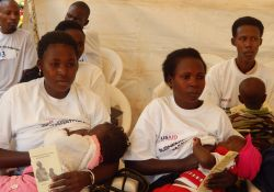 Breastfeeding mothers took part in the marathon event and received nutrition tips from experts.