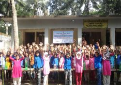 School program at Babugonj