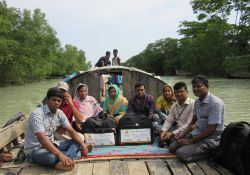 NHSDP team and SPRING staff travel to Dhalchor
