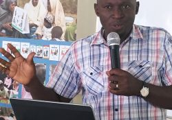 In Kaduna, Mr. Adams G. Ango, the Kajuru LGA Nutrition Focal Person, who worked closely with Ms. Adeyemi in overseeing implementation, took the lead on presenting implementation process, activities, and outputs.