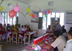 A World Breastfeeding Week quiz competition in Patuakhali district