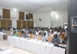 A wide variety of stakeholders attended the SPRING/Ghana Learning and Sharing Event.
