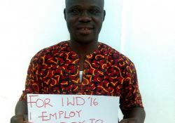 """""""For IWD '16, I employ to treat women with respect"""""""