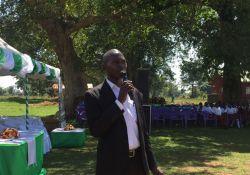 District Nutrition Focal Person Kizito Ndegeya