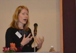 Principal Investigator Amanda Pomeroy-Stevens presents the methods of the PBN Nepal case study