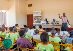 Just like health workers, Village Health Teams (VHTs) were also trained about MNP and their benefits to children. Health assistants like Patrick Busense were key in the success of this activity.