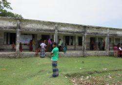 Health camp venue at Dhalchar