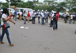 Participants in Wuse market, Abuja