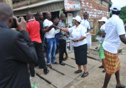 Participants in Wuse market, Abuja