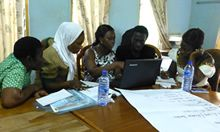 Data prioritization activity in Ghana