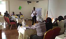 Uganda training group