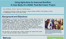 Using Agriculture for Improved Nutrition: A Case Study of a USAID 'Feed the Future' Project