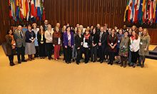 group photo of particiapants