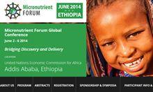 Screenshot of the Micronutrient Forum website