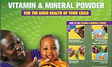 Screen capture of the Vitamin and Mineral Powder poster cover