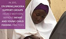 World Breastfeeding Week 2016 Facts - Infant and Young Child Feeding in Nigeria