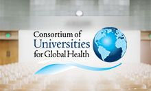 Thumbnail image featuring the logo for the Consortium of Universities for Global Health