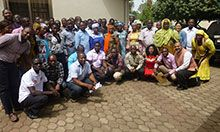 DATA training of trainers participants