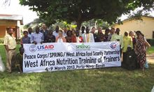 SPRING Partners with Peace Corps to Provide Nutrition Training in West Africa