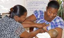 SPRING/Haiti Builds Health Worker Capacity Using On-the-Job Training Approach