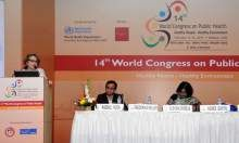 Agnes Guyon presenting at 14th World Congress on Public Health