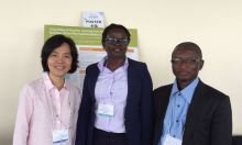 Dr. Lidan Du, SPRING Research Advisor, Ms. Nancy Adero, Program Officer for Micronutrients and Anaemia from SPRING/Uganda, and Mr. Ziba Dokurugu, Agriculture Advisor from SPRING/Ghana, participated in the Catholic Relief Services' 2015 Integrated Nutrition Conference in Nairobi, Kenya.