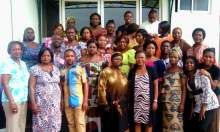 Cross section of participants in the F-IYCF training