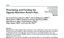 Prioritizing and Funding the Uganda Nutrition Action Plan Thumbnail