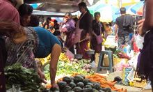 Photo of market in Guatemala