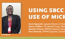 Using SBCC to Lower Barriers to Appropriate Use of Micronutrient Powders in Uganda