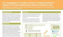 Use of Aggregated Lot Quality Assurance Sampling Methods in Uganda to Provide Implementation-Relevant Evaluation Data