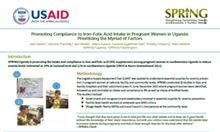Promoting Compliance to Iron–Folic Acid Intake in Pregnant Women in Uganda: Prioritizing the Myriad of Factors