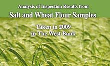 Analysis of Inspection Results from Salt and Wheat Flour Samples Taken in 2009 in The West Bank