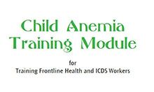 Training Frontline Health and ICDS Workers