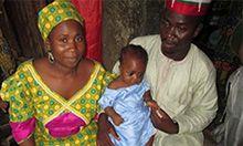 Photo of Fatimah, Baby Aisha, and Nuru