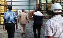 Walking through the BIDCO factory