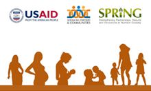USAID, APC and SPRING logos