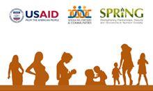USAID, APC and SPRING logos
