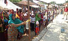 Demonstration session at Jagodal Union Parishad