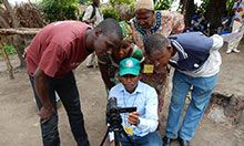 Twelve agents were trained in video production. One is a professional videographer.