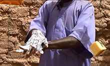 Men support handwashing in Maradi