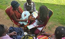 IYCF counseling in Jos