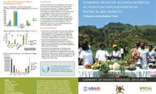 Learning from the Uganda Nutrition Action Plan Implementation in Kisoro and Lira Districts