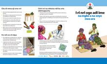 Community IYCF Brochure: Maternal Nutrition (Igbo)