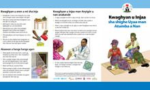 Community IYCF Brochure: Maternal Nutrition (Tiv)