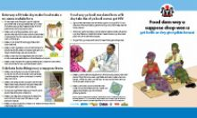 Community IYCF Brochure: Maternal Nutrition (Pidgin)