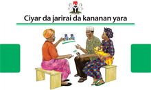 Community IYCF Counseling Cards (Hausa)