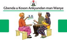 Community IYCF Counseling Cards (Tiv)