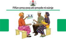 Community IYCF Counseling Cards (Yoruba)